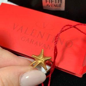 NWT Valentino Garavani Starfish Ring